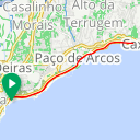 Map image of a Trip from August  7, 2013