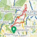 Map image of a Trip from July 14, 2017