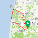 Map image of a Trip from August 28, 2013