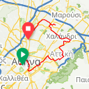 Map image of a Trip from September 28, 2013
