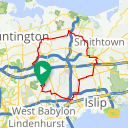 Map image of a Trip from October 21, 2017