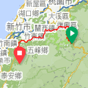 Map image of a Trip from January  6, 2014