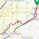 Map image of a Trip from March 19, 2018
