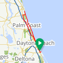 Map image of a Trip from January 20, 2014