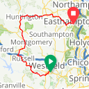 Map image of a Trip from April 26, 2018