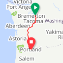 Map image of a Trip from July 14, 2018