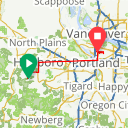 Map image of a Trip from August 19, 2018