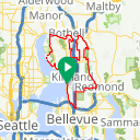 Map image of a Trip from May 26, 2014