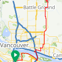 Map image of a Trip from September 26, 2018