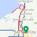 Map image of a Trip from October  5, 2018
