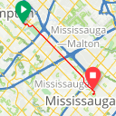 Map image of a Trip from October  7, 2018
