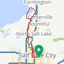 Map image of a Trip from October 22, 2018