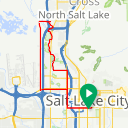 Map image of a Trip from November 12, 2018
