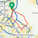 Map image of a Trip from November 21, 2018