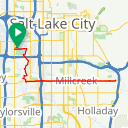 Map image of a Trip from July 24, 2014