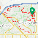 Map image of a Trip from January 20, 2019