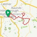 Map image of a Trip from January 29, 2019