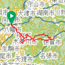 Map image of a Trip from February 11, 2019