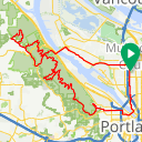 Map image of a Trip from March  2, 2019