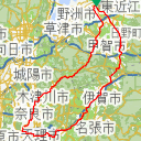 Map image of a Trip from March  9, 2019