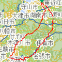 Map image of a Trip from March 12, 2019