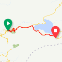 Map image of a Trip from March 21, 2019