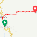 Map image of a Trip from March 28, 2019