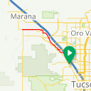 Map image of a Trip from April  3, 2019