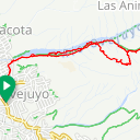 Map image of a Trip from April  6, 2019