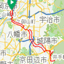 Map image of a Trip from April  7, 2019