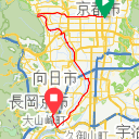 Map image of a Trip from April 12, 2019