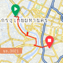 Map image of a Trip from April 26, 2019