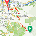 Map image of a Trip from May  5, 2019