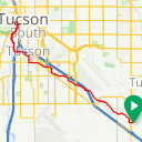 Map image of a Trip from May 15, 2019