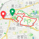 Map image of a Trip from May 23, 2019