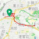 Map image of a Trip from May 24, 2019