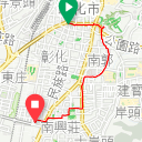 Map image of a Trip from June  5, 2019