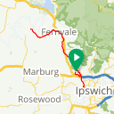 Map image of a Trip from June  9, 2019
