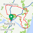 Map image of a Trip from June 15, 2019
