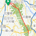 Map image of a Trip from June 22, 2019