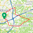 Map image of a Trip from February  4, 2015