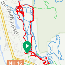 Map image of a Trip from October 19, 2019