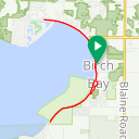 Map image of a Trip from April 20, 2015