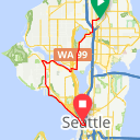 Map image of a Trip from May 19, 2015