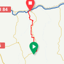 Map image of a Trip from May 26, 2015