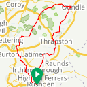Map image of a Trip from June  6, 2015