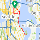 Map image of a Trip from January 26, 2012