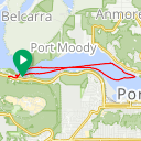 Map image of a Trip from June 11, 2015