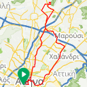 Map image of a Trip from June 13, 2015