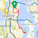Map image of a Trip from February 15, 2012